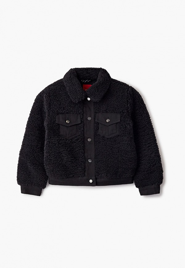 куртка s.oliver для девочки, черная