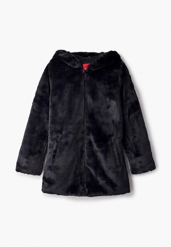 шуба s.oliver для девочки, черная