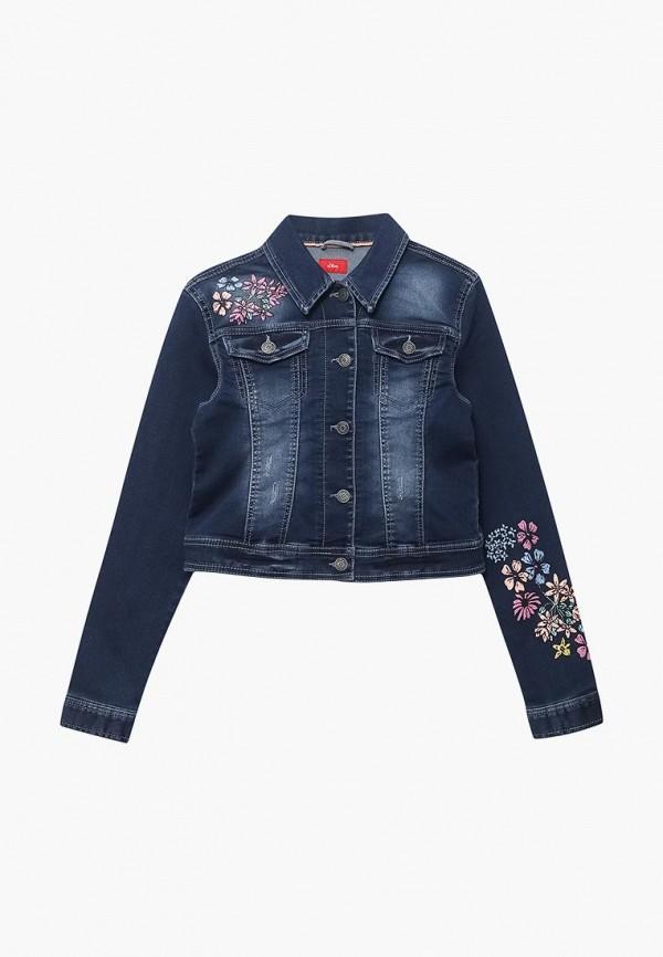 Купить Куртка джинсовая s.Oliver, SO917EGZMB32, синий, Весна-лето 2018