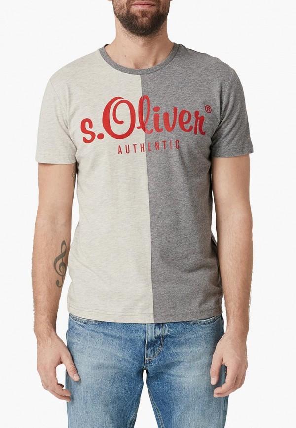 Футболка s.Oliver s.Oliver SO917EMEJDG0 футболка sportmax code sportmax code sp027ewdqnf2