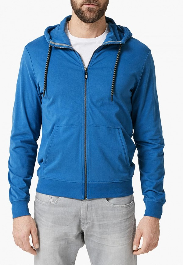 мужская толстовка s.oliver, синяя