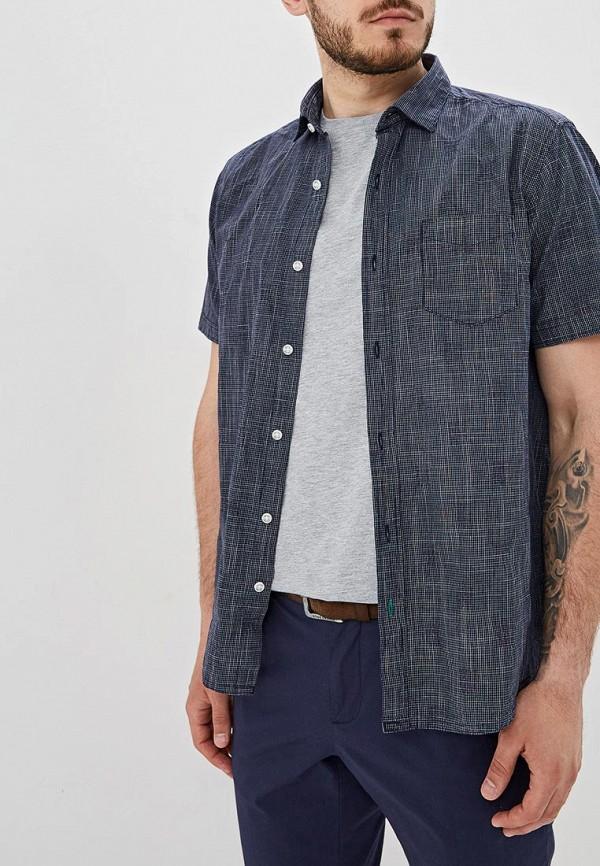 Фото - Мужскую рубашку s.Oliver синего цвета