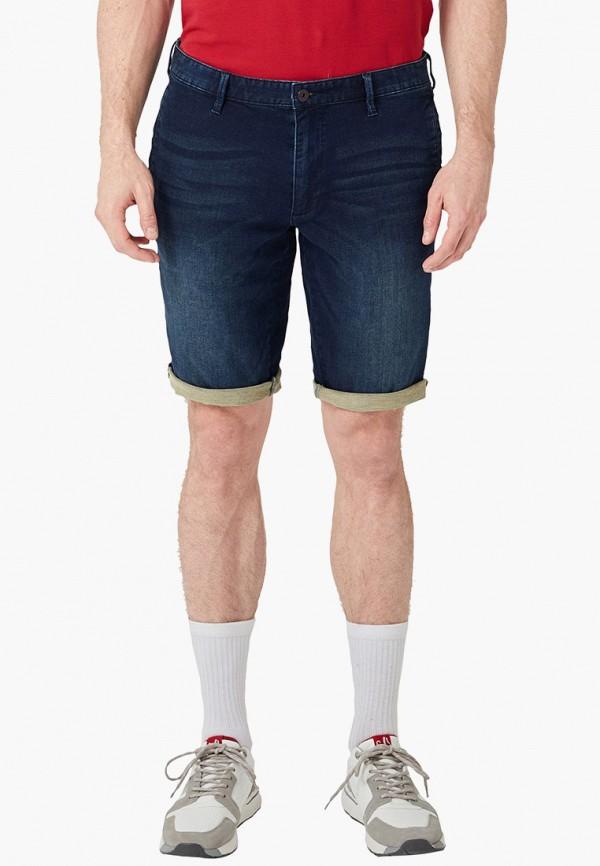 мужские джинсовые шорты s.oliver, синие