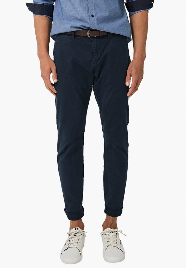 мужские брюки чинос s.oliver, синие