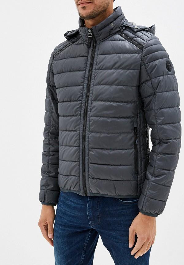 мужская куртка s.oliver, серая