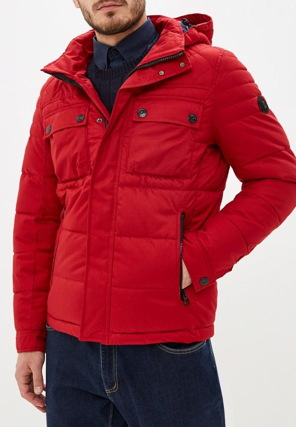 мужская куртка s.oliver, красная