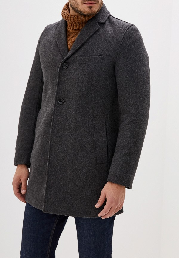 мужское пальто s.oliver, серое