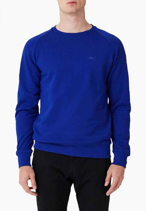 мужской свитшот s.oliver, синий