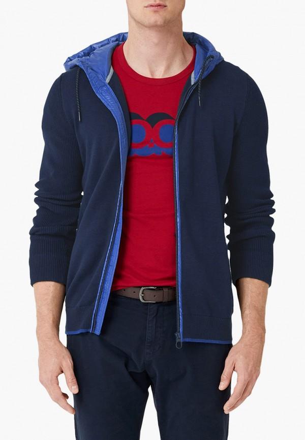 мужской кардиган s.oliver, синий