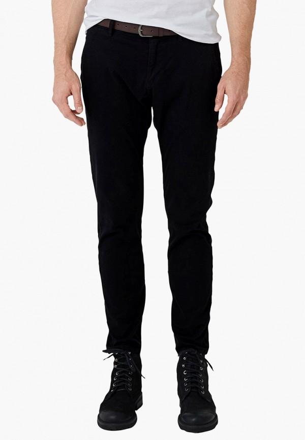 мужские зауженные джинсы s.oliver, черные