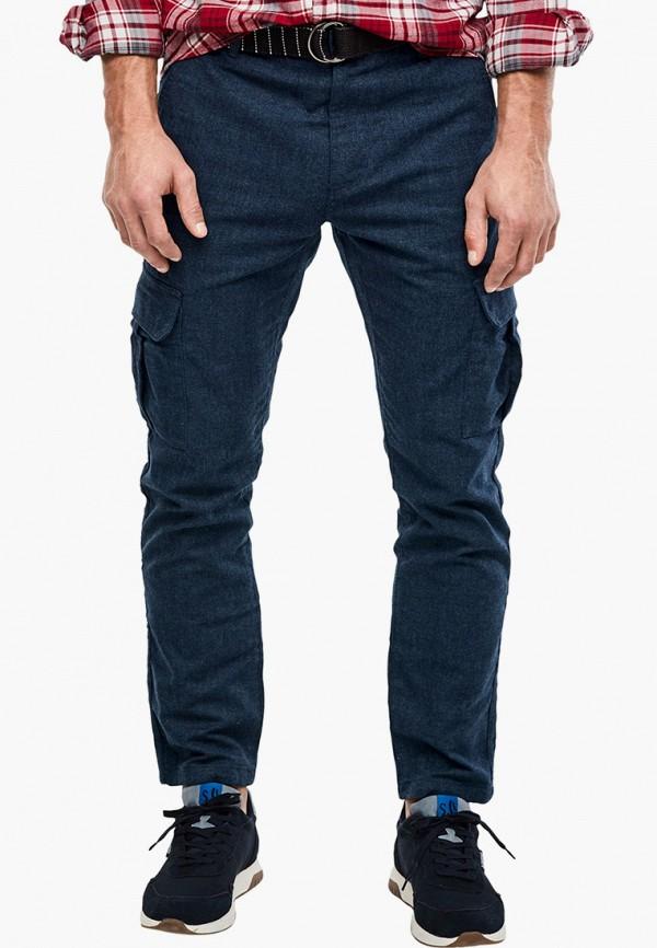 мужские брюки карго s.oliver, синие