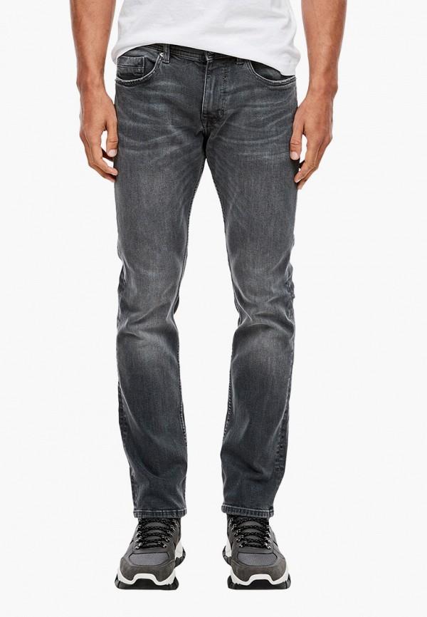 мужские зауженные джинсы s.oliver, серые