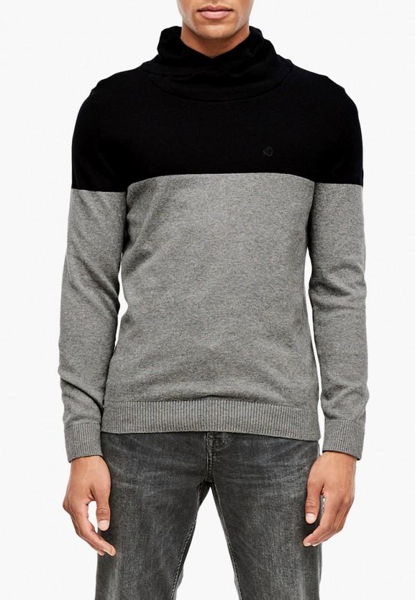 мужской свитер s.oliver, серый
