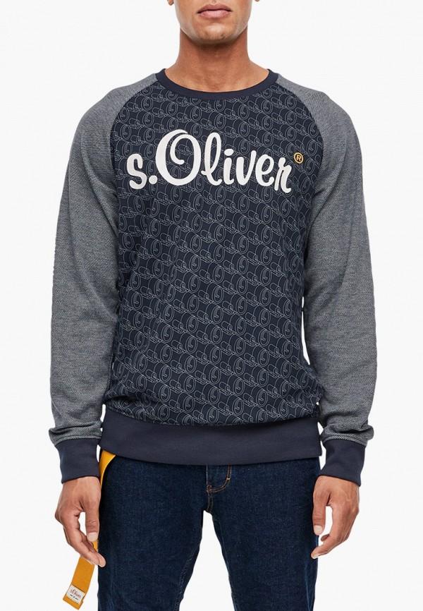мужской свитшот s.oliver, серый