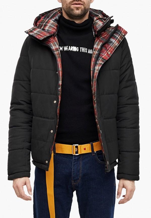 мужская утепленные куртка s.oliver, черная