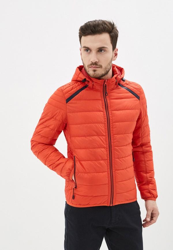 мужская утепленные куртка s.oliver, красная