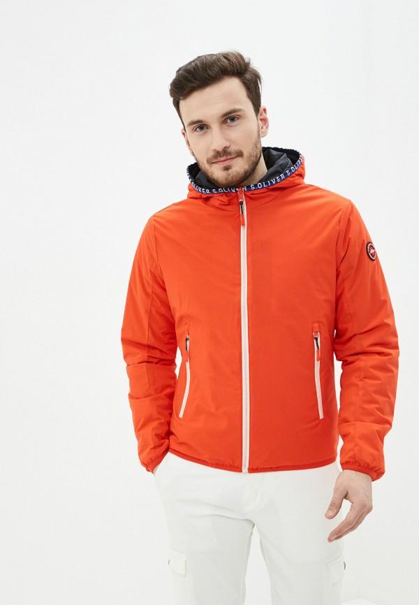мужская куртка s.oliver, разноцветная