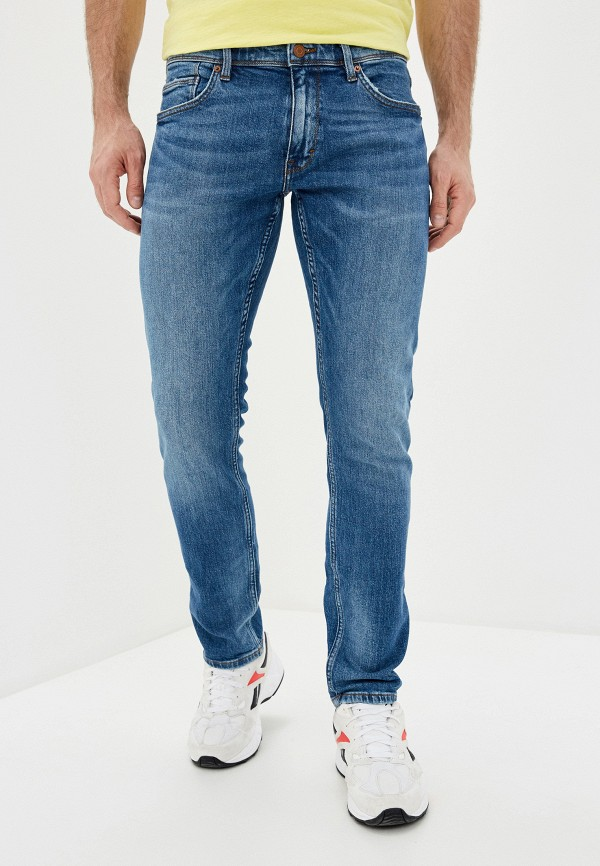 мужские зауженные джинсы s.oliver, синие