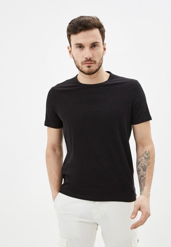 мужская футболка с коротким рукавом s.oliver, черная