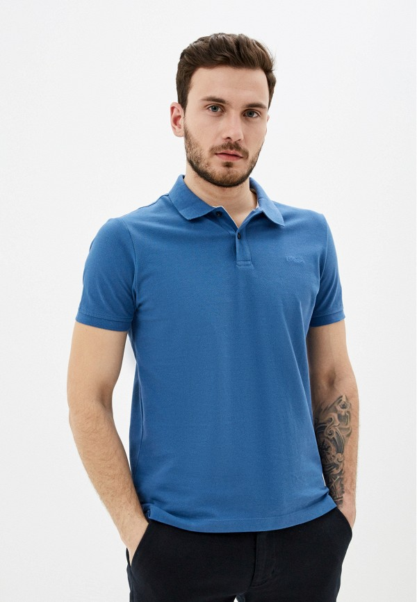 мужское поло s.oliver, синее