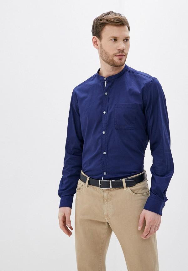 мужская рубашка s.oliver, синяя