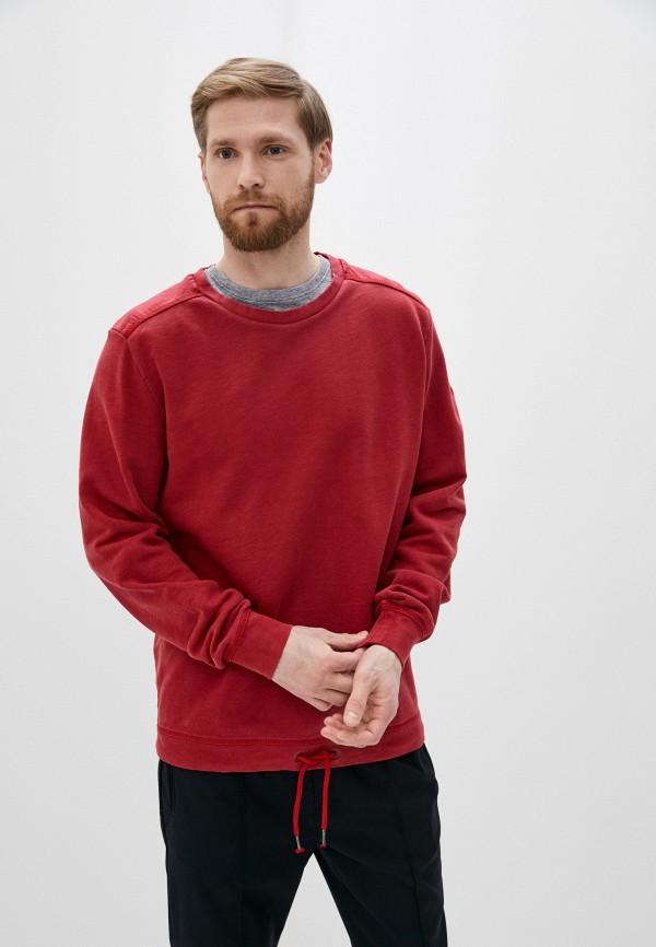 мужской свитшот s.oliver, красный