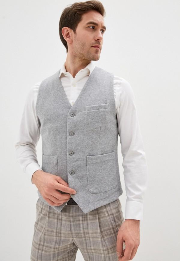 мужской пиджак s.oliver, серый