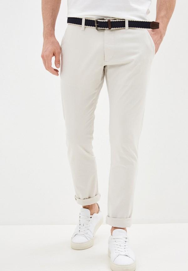мужские брюки чинос s.oliver, бежевые