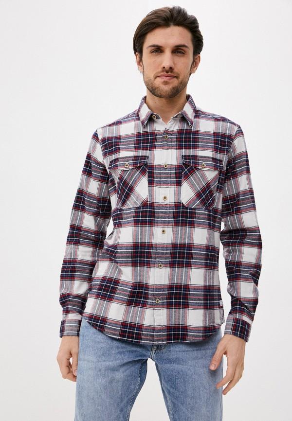 мужская рубашка с длинным рукавом s.oliver, разноцветная
