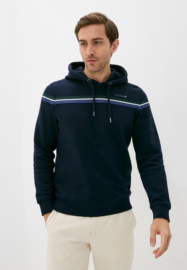 мужские худи s.oliver, синие