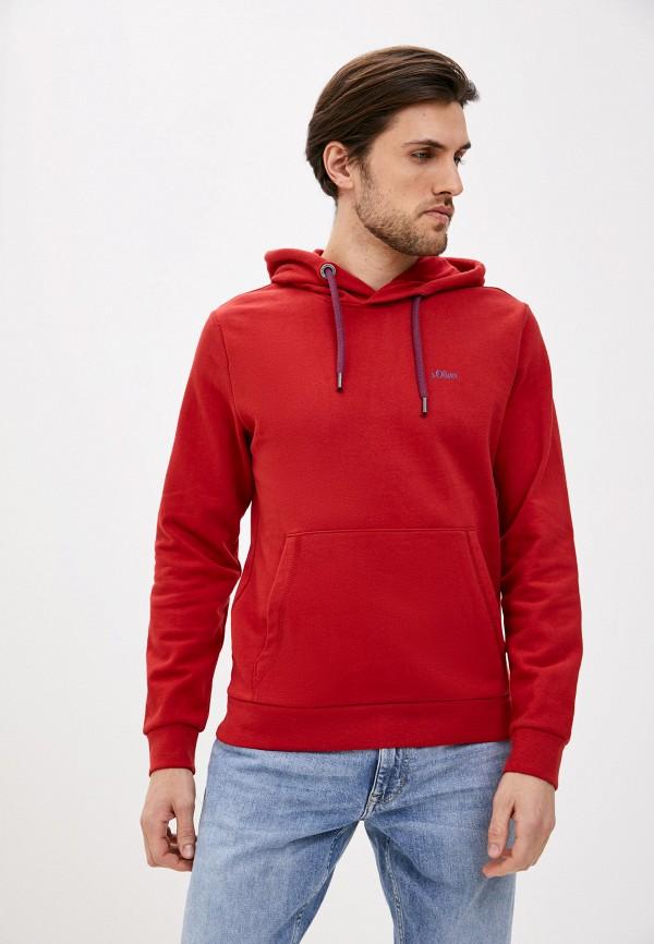 мужские худи s.oliver, красные