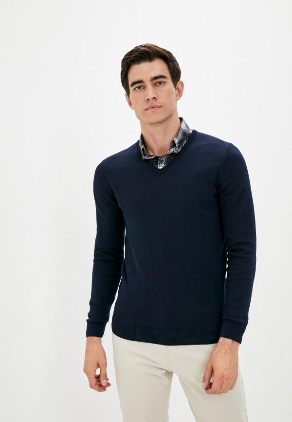 мужской пуловер s.oliver, синий