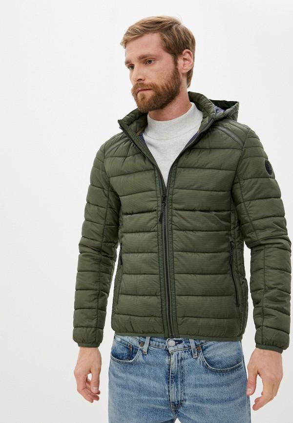 мужская куртка s.oliver, хаки