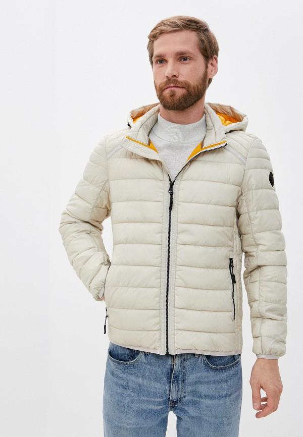 мужская куртка s.oliver, бежевая