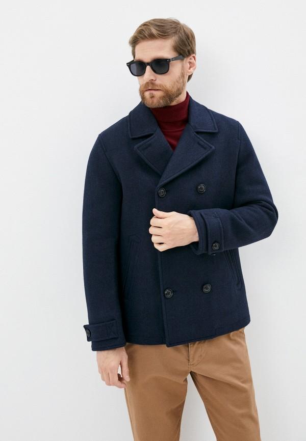 мужское пальто s.oliver, синее