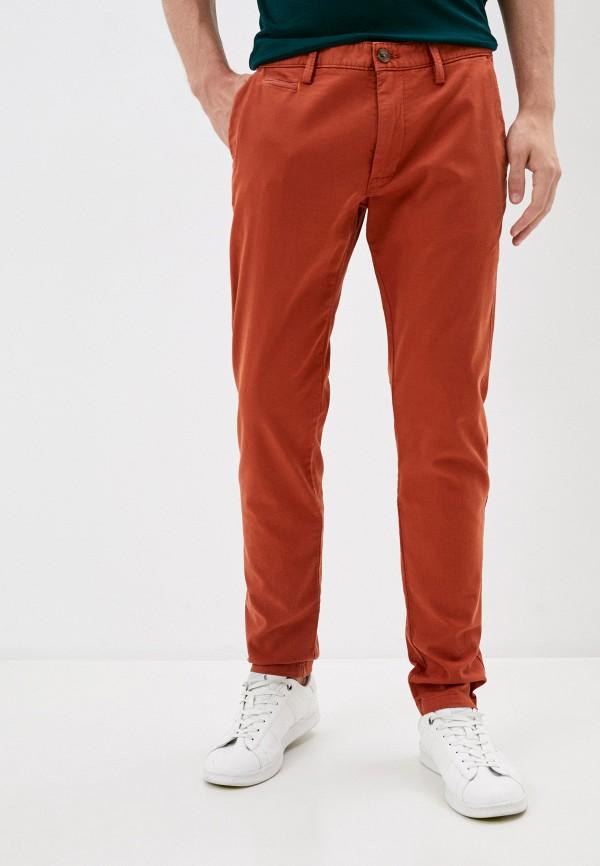 мужские брюки чинос s.oliver, оранжевые