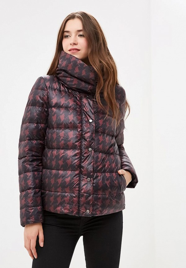 Купить Пуховик s.Oliver, SO917EWBPKJ0, бордовый, Осень-зима 2018/2019