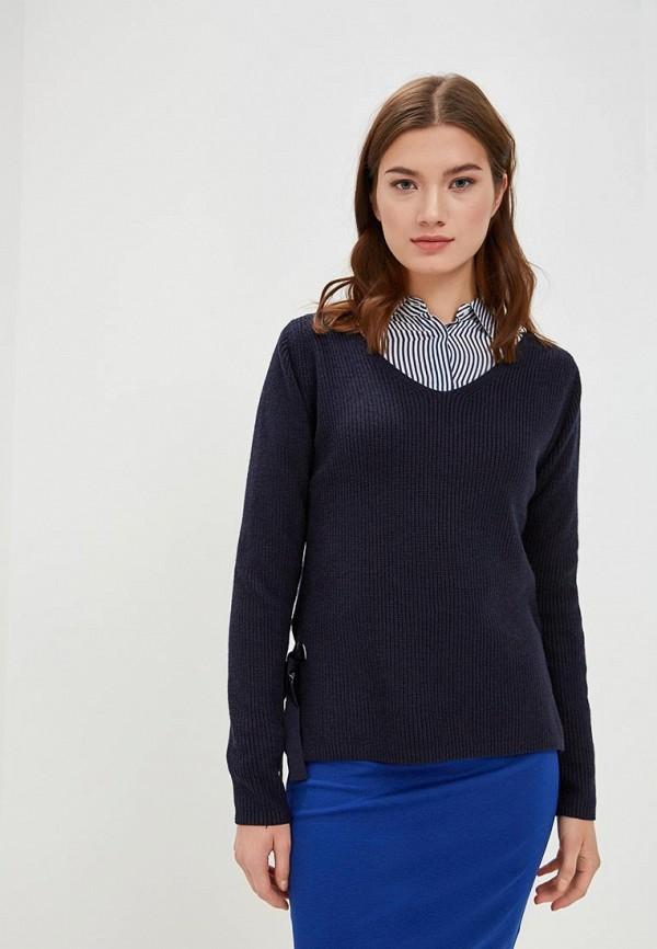 женский пуловер s.oliver, синий