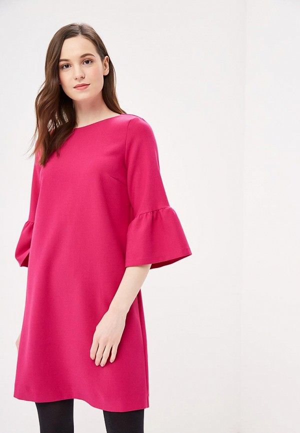 женское повседневные платье s.oliver, розовое