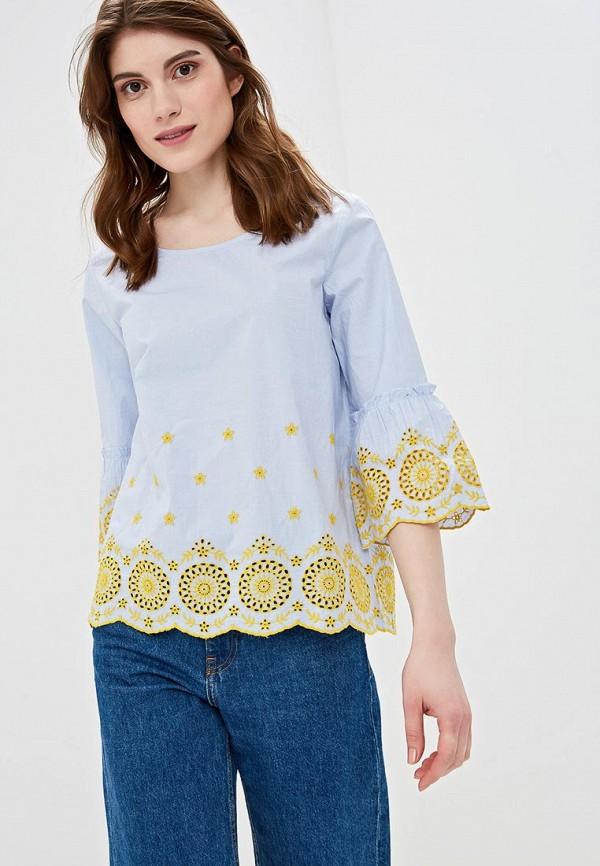 женская блузка s.oliver, голубая