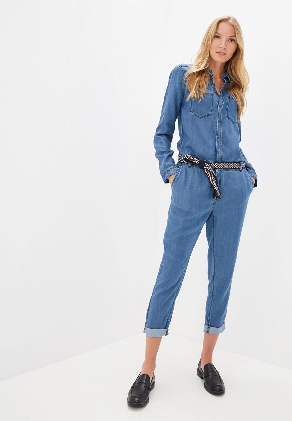 женский комбинезон s.oliver, синий