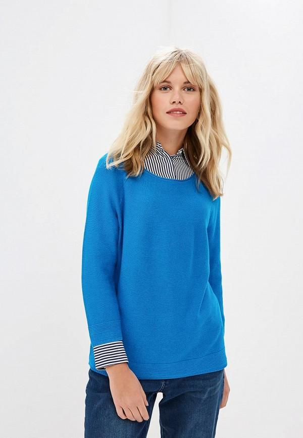 женский джемпер s.oliver, голубой