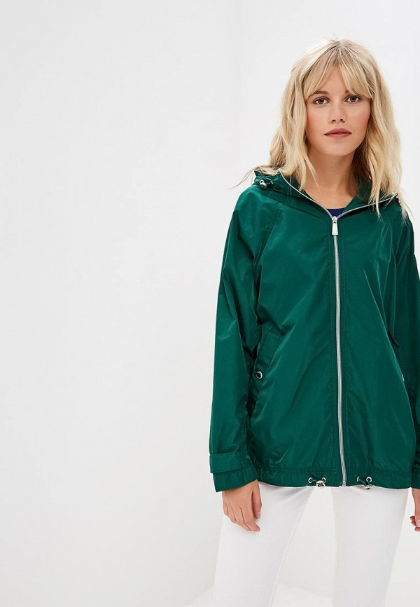 женская куртка s.oliver, зеленая