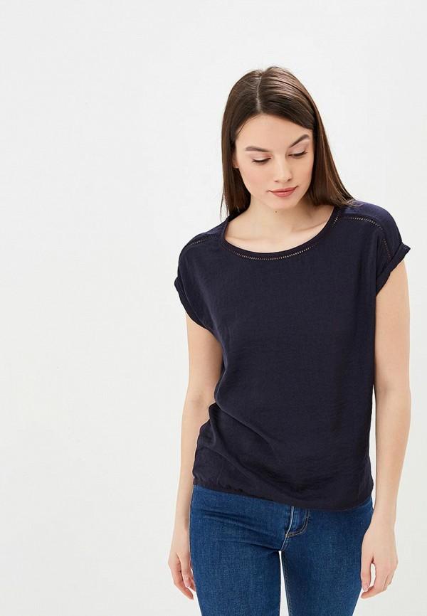Фото - женскую блузку s.Oliver синего цвета