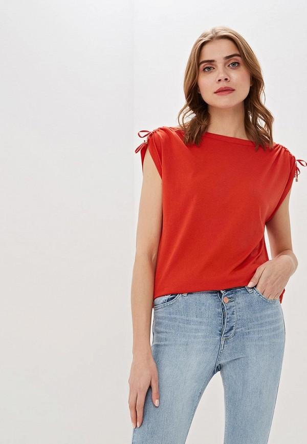 женская футболка s.oliver, красная