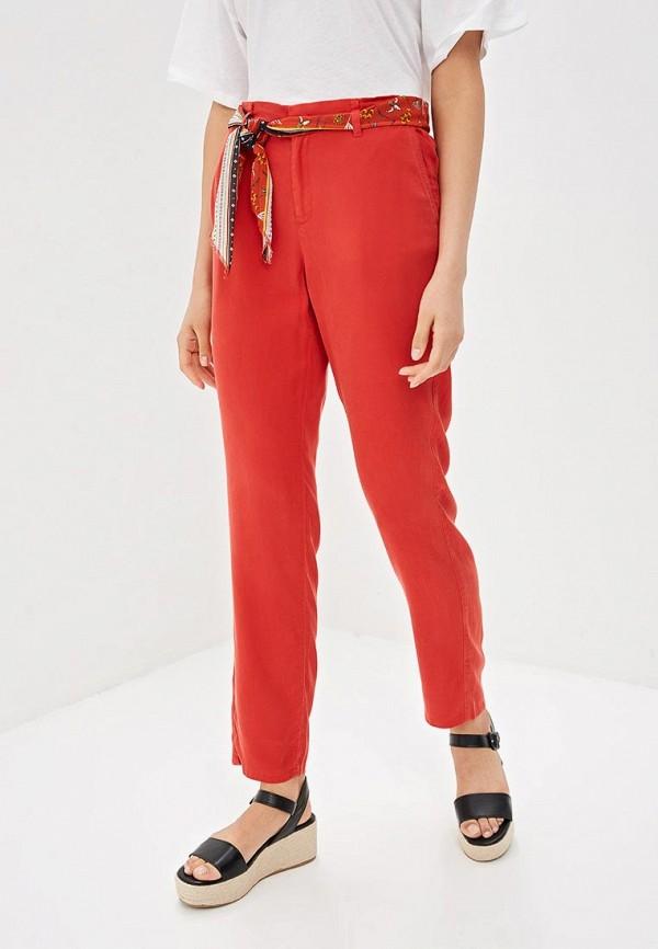 женские повседневные брюки s.oliver, красные
