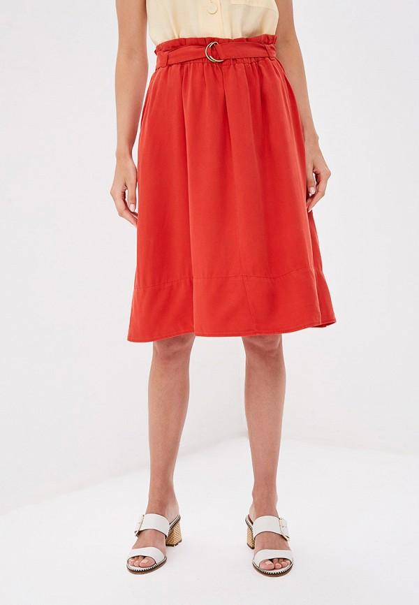 женская юбка s.oliver, красная