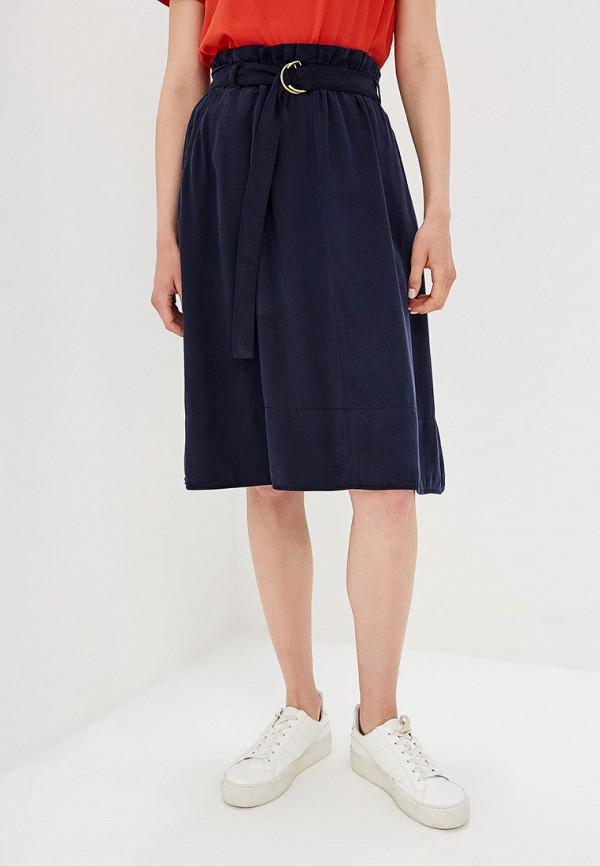 женская юбка s.oliver, синяя