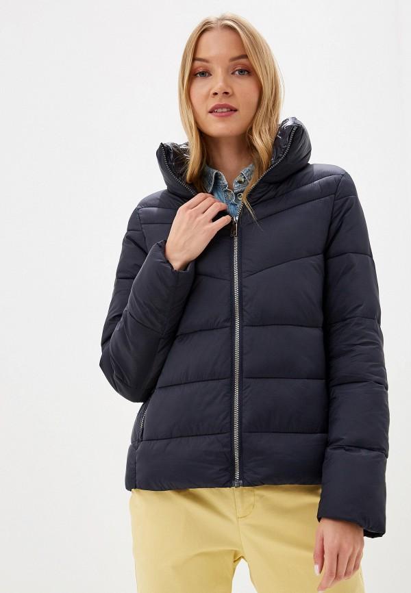 женская куртка s.oliver, синяя