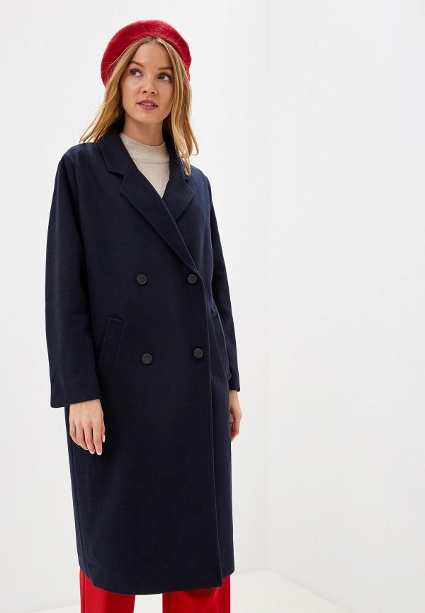 женское пальто s.oliver, синее
